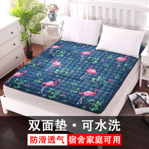 Student dormitory single bed cushions soft pads fleece pads protection duvets double thin household bedding mattress pads