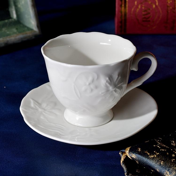 小咖啡杯套装 小茶杯 酒店西餐厅咖啡馆商用浓缩小咖啡杯陶瓷杯碟