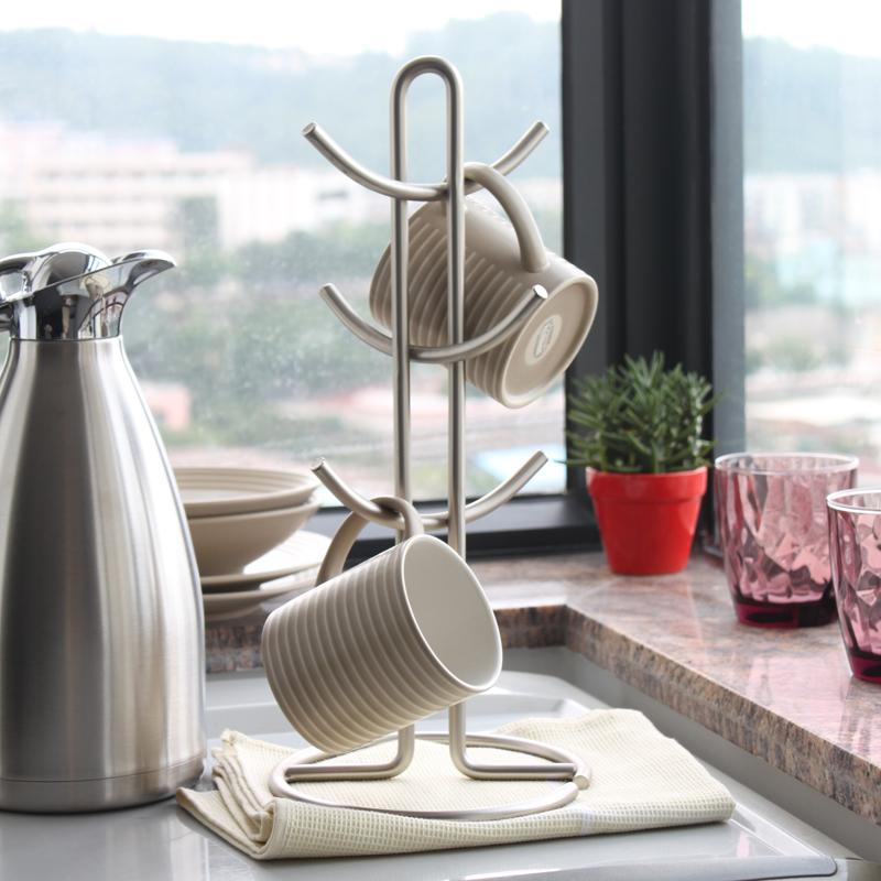 杯架挂架水杯马克杯架咖啡杯架水杯架悬挂厨房杯架晾杯架奶茶杯架