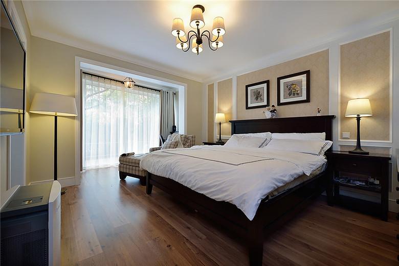 現代美式風格臥室|臥室