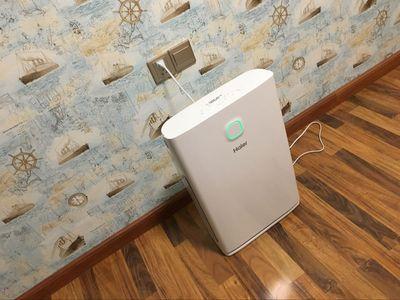 海尔办公家用氧吧空气净化器KJ340F-EAA怎么样 除甲醛二手烟雾霾评价