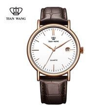 King watches genuine fashion trend watch men's belt watch simple leisure quartz watch 3874