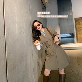 南瓜谷西雅图套装~小西装外套女套装女2020新款气质休闲西服X0011