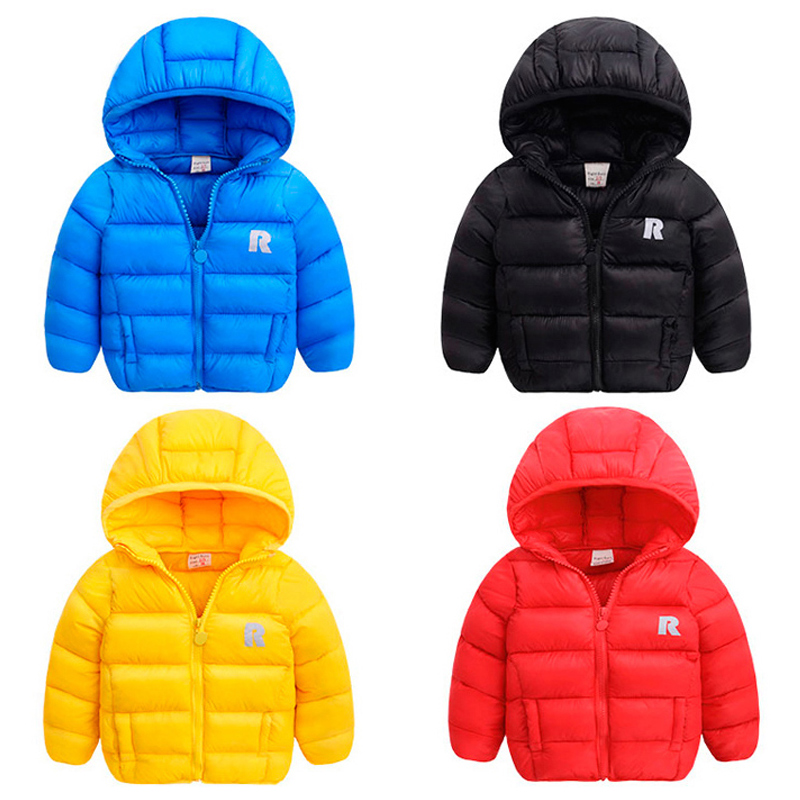 轻薄棉衣男童外套冬季冬装童装儿童宝宝棉服女童棉袄加厚婴儿小童