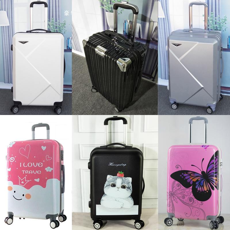 拉杆箱女行李箱男万向轮24寸韩版旅行箱包26小清新复古密码箱子