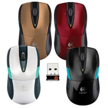 包邮收藏罗技hs3525激td标 M505升级款优联接收器笔记本鼠标