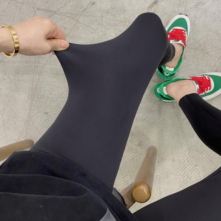 达达04 韩国春夏新款 修身显瘦弹力舒适打底裤瑜伽运动健身裤女装