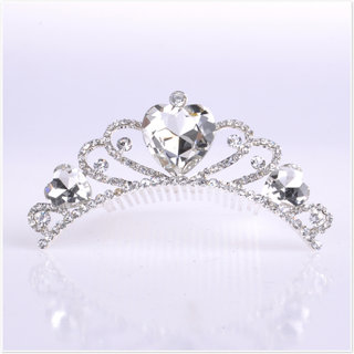 Bridal rhinestone Crystal bead jewelry simple, versatile style alloy super combined Crown