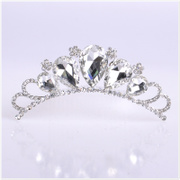 Married bride Crown tiara bridal tiara headband rhinestone hair accessories Bridal Accessories-