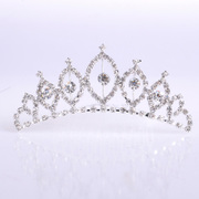 Honey made in hair ornaments of pure romance wedding bride rhinestone tiara hair comb Crown drill plug stereo-