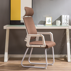 Office chair comfortable long sedentary chair meeting spine arch back fat back strong waist computer chair home