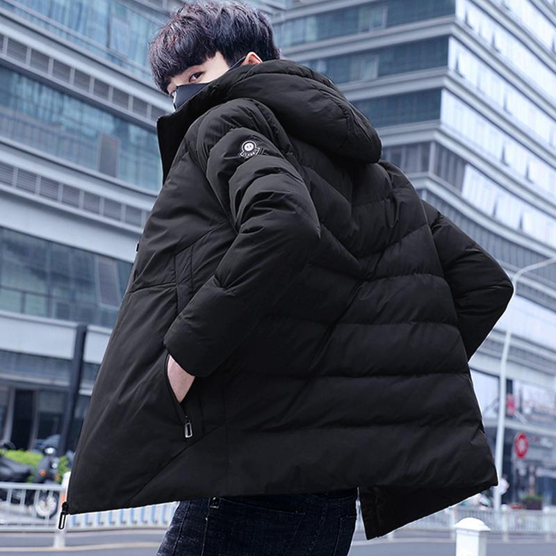 棉衣男士加厚外套冬季2018新款冬装羽绒棉服[商城]