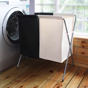 Clothing cloth classification large laundry basket folding laundry basket waterproof laundry basket dirty clothes storage basket home Lou