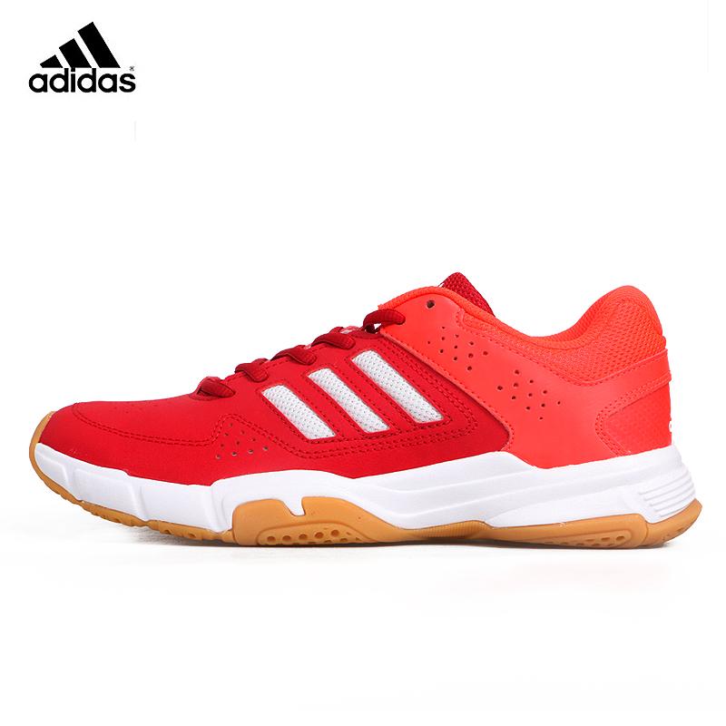 正品Adidas阿迪达斯羽毛球鞋男鞋透气超轻专业比赛训练运动鞋防滑