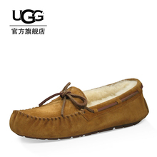 Ugg2019 autumn and winter women's wool fashion casual shoes warm casual bow Lefu shoes Doudou shoes 5612