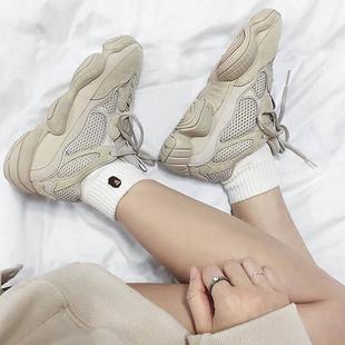 老爹鞋女2018新款夏季厚底网红运动鞋ins超火的鞋子Y500泡面小希