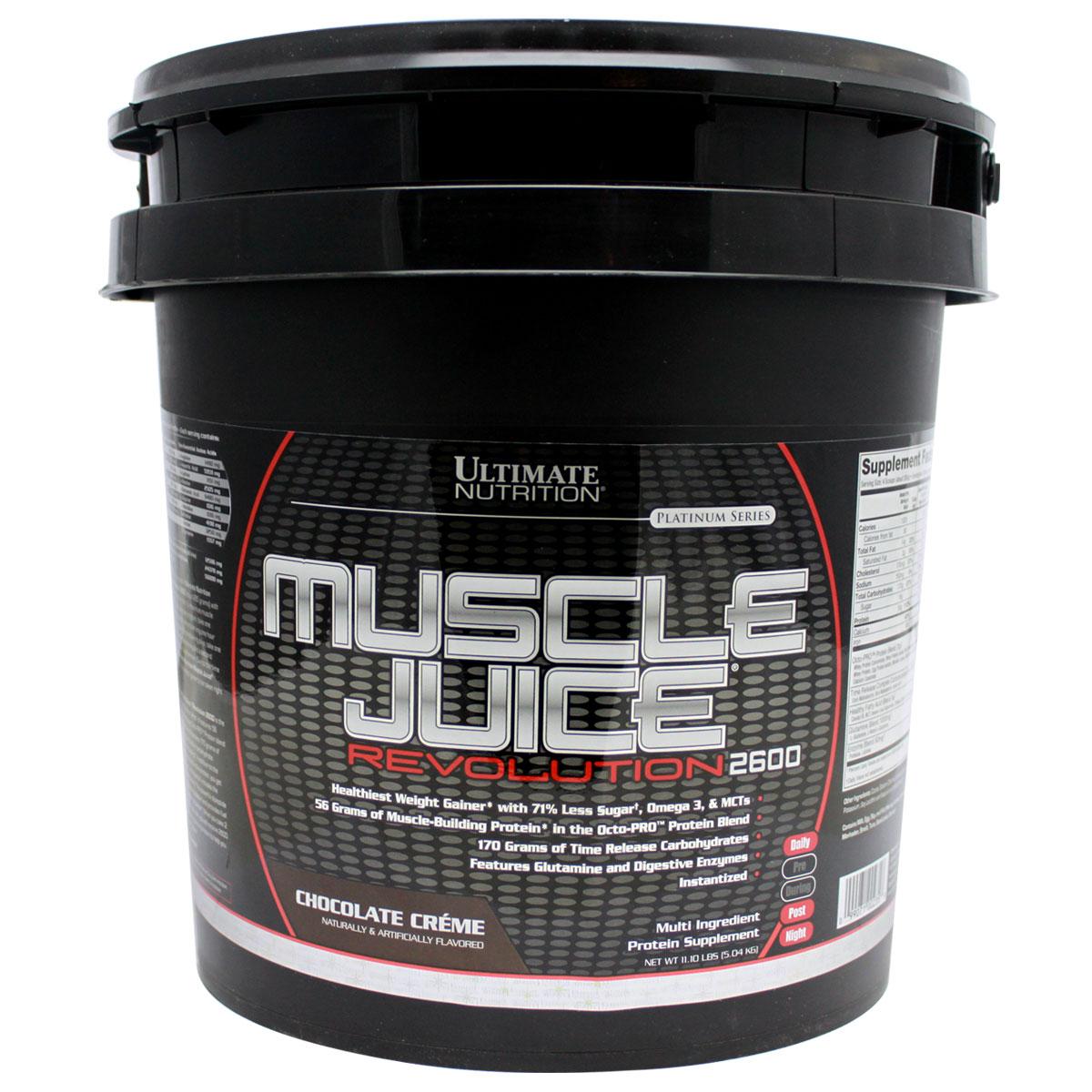 Ultimate Nutrition美国UN优恩增肌粉重11磅瘦人健身复合蛋白质粉
