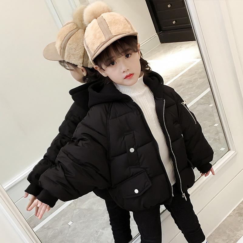 女童棉衣2017新款儿童童装短款面包棉服洋气外套大童韩版冬装棉袄