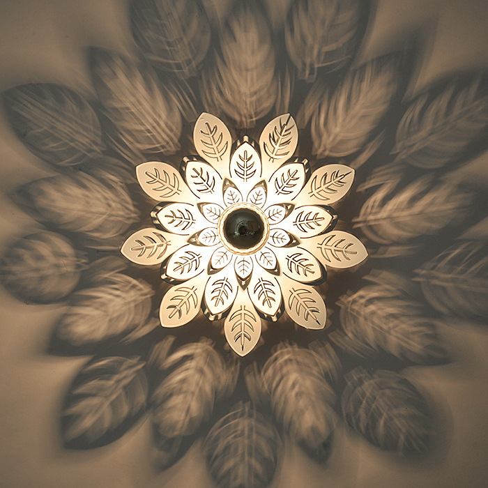 玄关灯走廊过道灯创意进门厅入户阳台衣帽间影子吸顶床头墙壁射灯