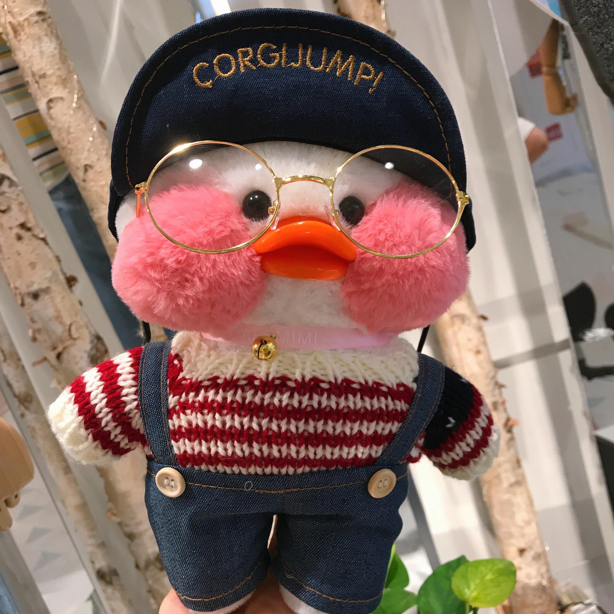网红玻尿酸鸭子ins小黄鸭毛绒玩具公仔玩偶少女心礼物韩国娃娃生