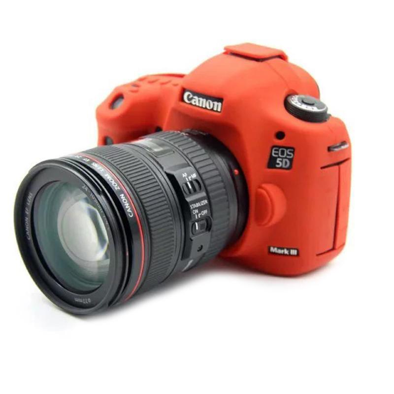 相机包佳能5D4 6D2 80D 6D 5D3 5DS 5DSR保护套800D硅胶套 EOS 200D 90D 800D 77D 1500D Mark iii IV 1300D