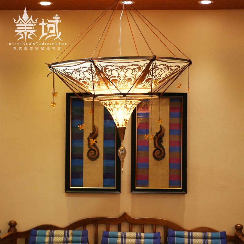 泰域 泰国古典吊灯 东南亚风格客厅灯饰 新中式餐厅氛围灯照明-泰域美学家居