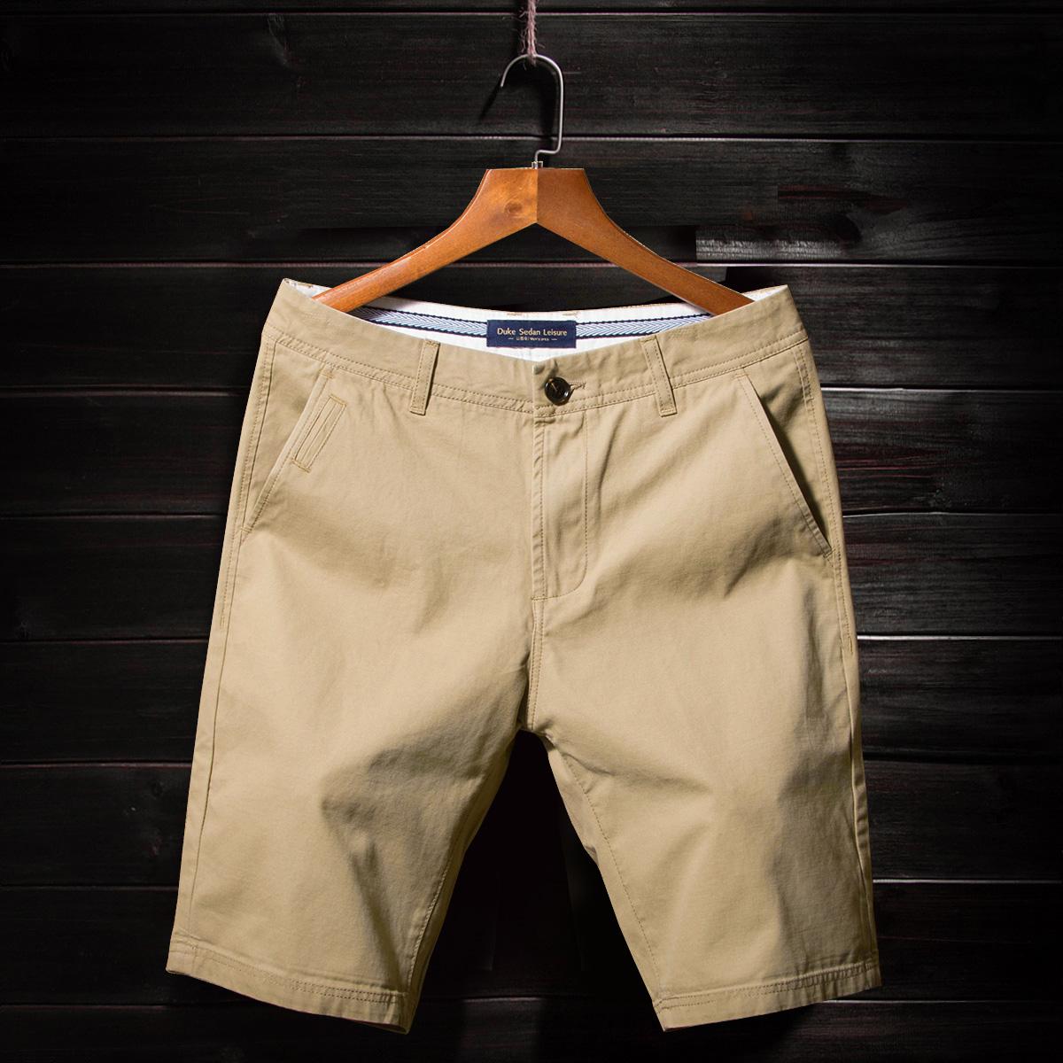夏季休闲短裤男士五分裤夏天宽松七分裤5分中裤纯棉韩版潮流马裤