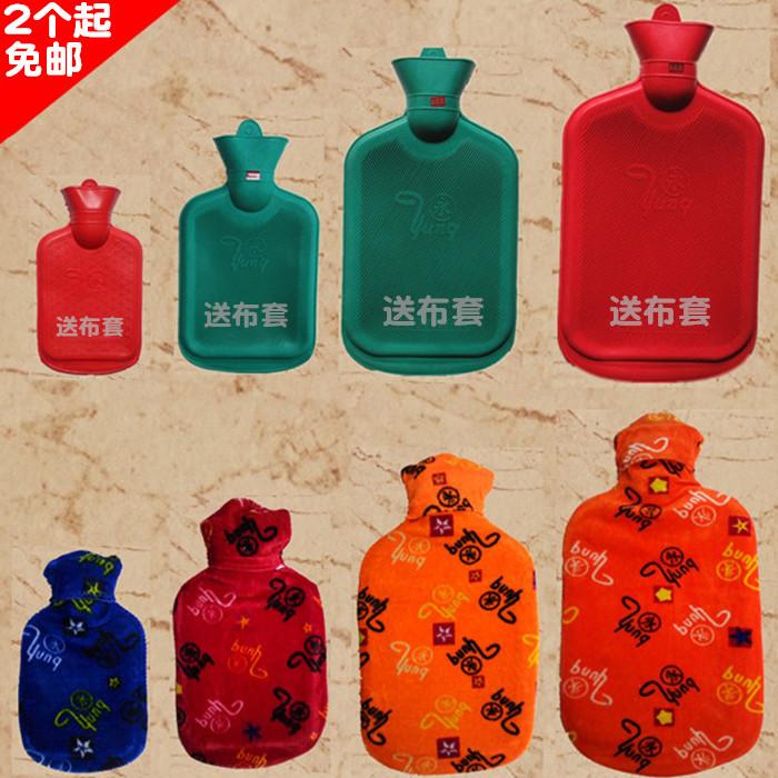 永热水袋2个起免邮 平纹 加厚斜纹 大中小可选 暖水袋橡胶怀旧