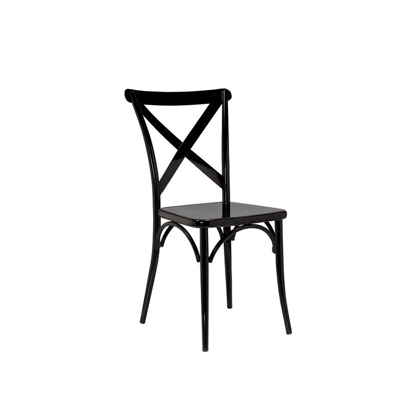 铁艺餐椅铁皮椅酒吧咖啡餐厅铁凳椅复古工业风设计师椅户外金属椅