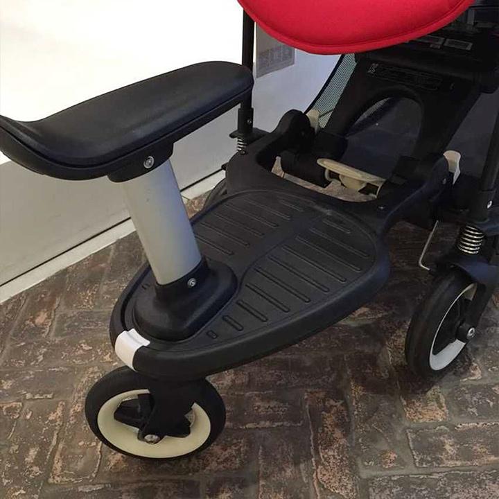 欧洲代购 Bugaboo Wheeled Board 婴儿车配套脚踏板座椅套装