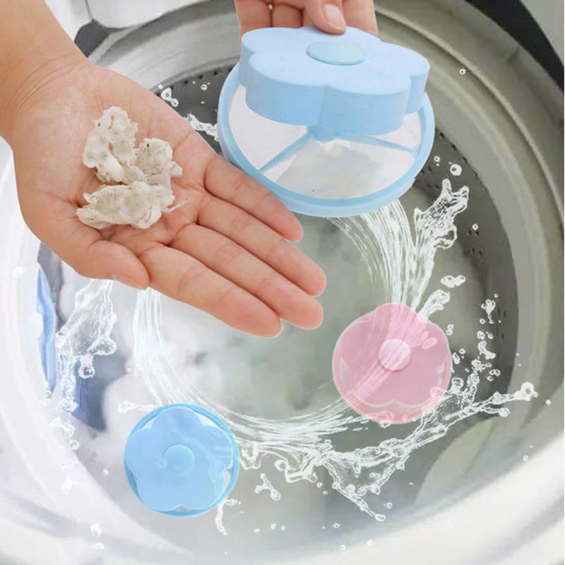 洗衣机过滤网袋除毛器漂浮洗衣球通用清洁吸去毛去污过滤器洗衣袋