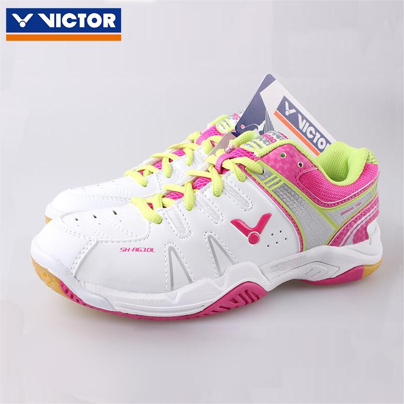 victor威克多胜利羽毛球鞋SHA610LAQ女运动鞋防滑耐磨正品
