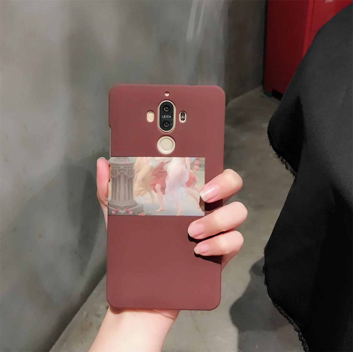 ins网红同款华为mate9手机壳保护套华为V9外壳超薄