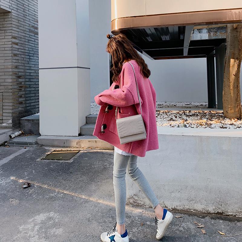 慵懒风毛衣女针织外套春装2019新款宽松韩版洋气很仙的上衣服开衫