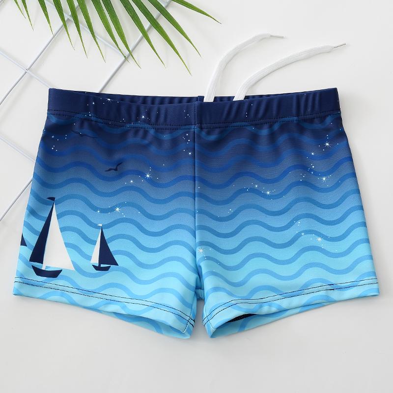 儿童泳裤男童小童游泳裤中大童宝宝2-3-6岁婴幼儿游泳衣套装备