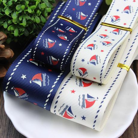Парусный Роуэн колледж печати ленты волосы украшение шпилька материала аксессуары Великобритании ветер поток упаковочной ленты
