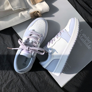 Global aj women's shoes white shoes 2019 new tide shoes winter wild sports casual shoes air force number one skate shoes