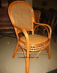 Residential rattan furniture Indonesia natural rattan rattan hotel chair computer chair lounge chair