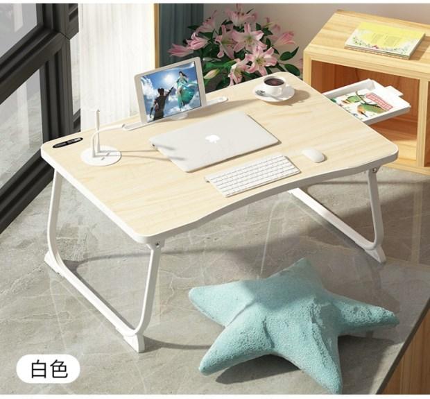 宿舍懒人床上用笔记本电脑桌大学生宿舍学习书桌寝室书柜床桌
