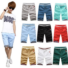 夏装青少年装ip3装13-an5-16-17岁初中学生男孩休闲六分裤子短裤