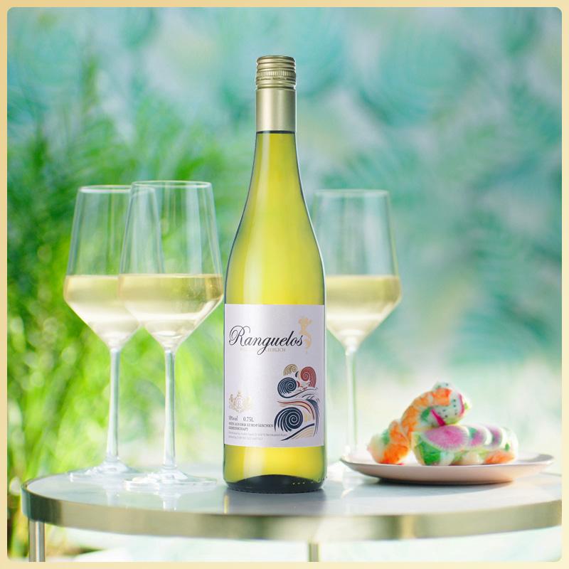 德国原瓶进口朗克鲁美人鱼雷司令半甜白葡萄酒整箱750ml*6支装
