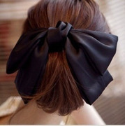 Enjoy authentic Korean fashion hair accessories satin Super loving Butterfly clip top clip female headdress ornament