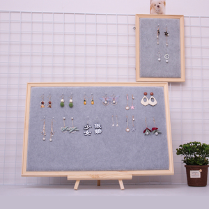 Earring display shelf jewelry photo frame necklace earring earring wall hanging jewelry prop earring jewelry storage board