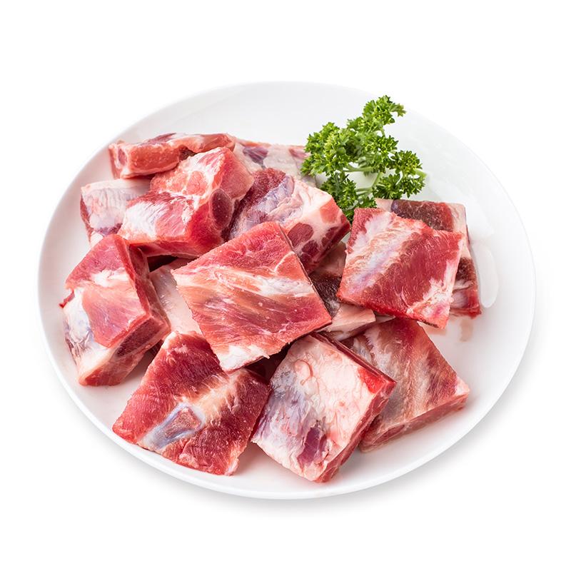 原膳西班牙天然谷饲精选猪肋排500g 猪排 猪肉