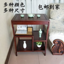 (小)边几角几实木客厅沙发边桌(小)茶几茶je14中款简um架电话桌