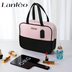网红化妆包女大容量韩国可爱简约小号便携手提式护肤化妆品收纳包