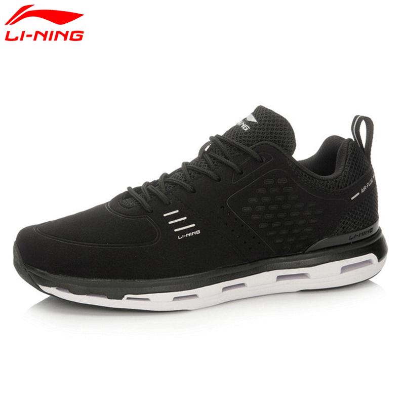 李宁男鞋透气耐磨都市健步鞋低帮运动休闲鞋慢跑鞋ACGL049 QG