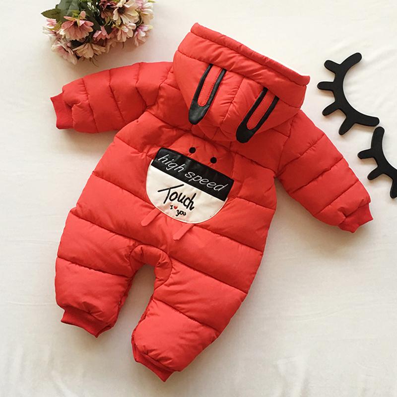 新生婴儿儿衣服连体衣棉衣宝宝秋冬加厚棉服哈衣外出抱衣冬季爬服