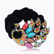 Mail compose good Korea jewelry rhinestone flower hair band with a shake hair hair hair accessories Korean-style hair bands