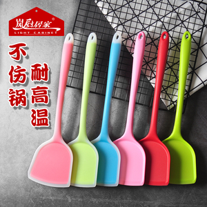 Food grade silicone spatula frying spoon non-stick special cooking shovel does not hurt the pot high temperature baking cooking kitchenware